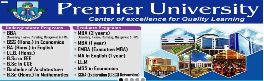Premier University, Chittagong   LinkedIn