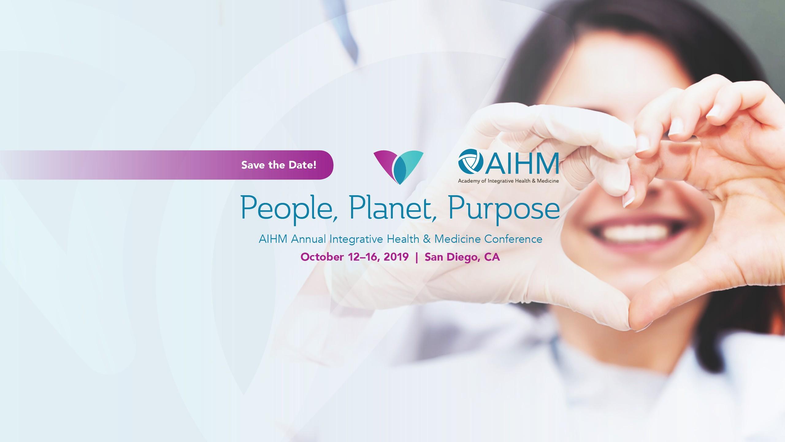 Academy of Integrative Health & Medicine (AIHM)   LinkedIn