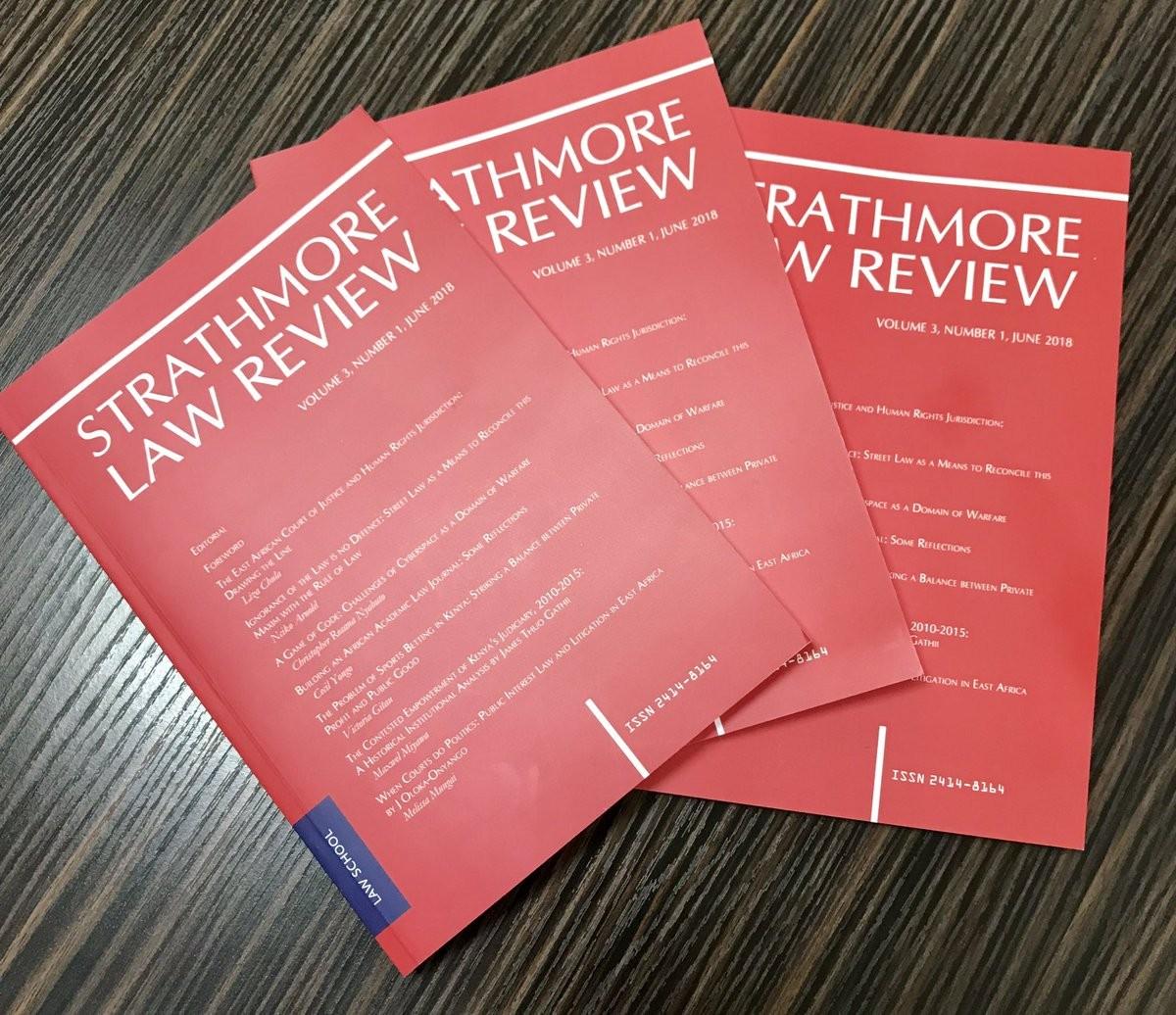 Strathmore Law Review (SLR) | LinkedIn