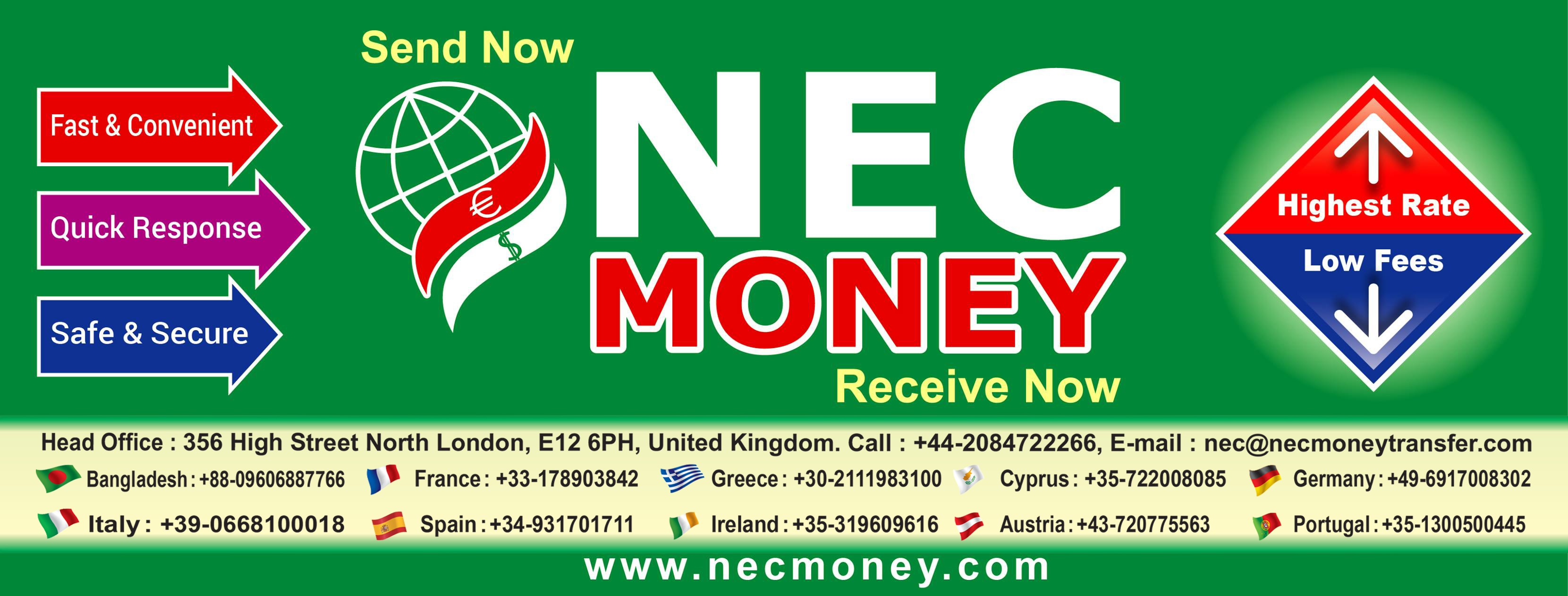 Nec Money Transfer Limited Cover Image