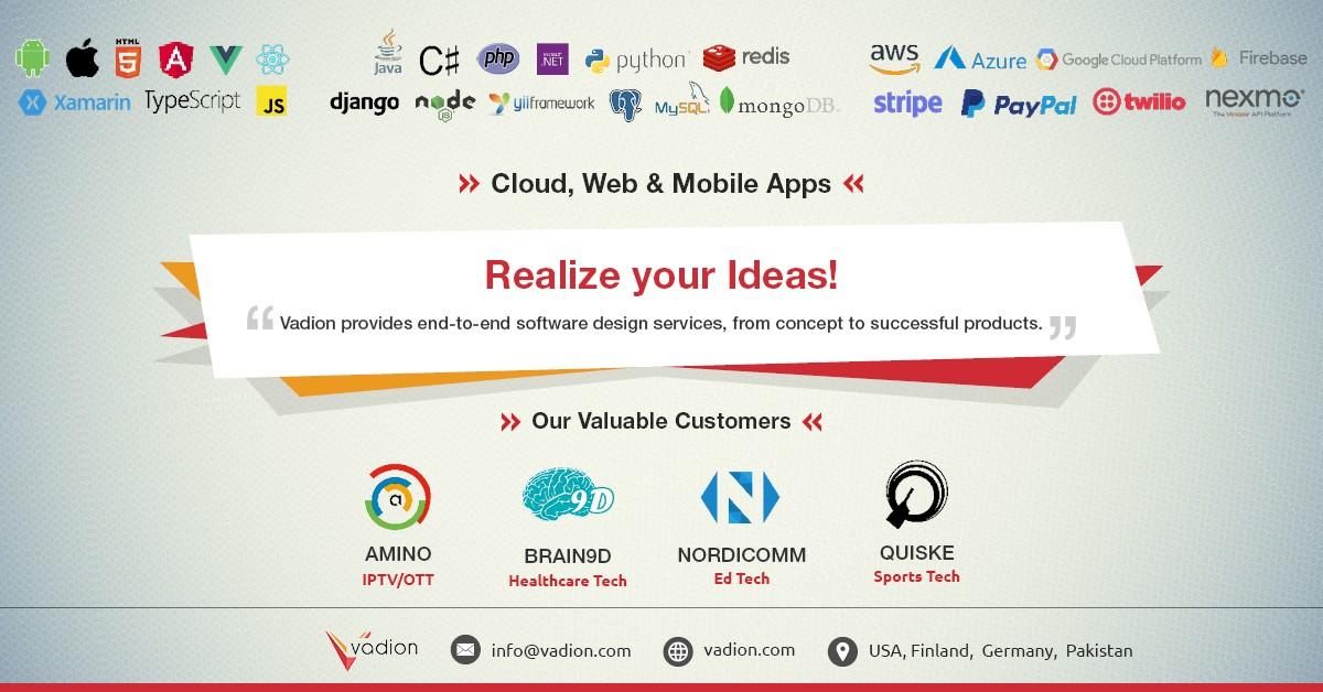 Vadion (Software Product Development Services) | LinkedIn