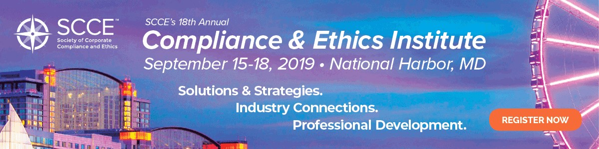 Society of Corporate Compliance and Ethics (SCCE) | LinkedIn