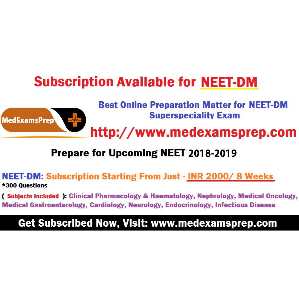MedExamsPrep - NEET PG Test Series Online | LinkedIn