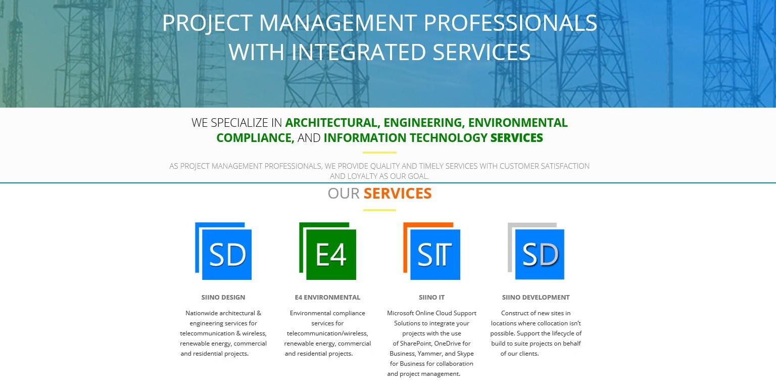 Siino Design, LLC (dba E4 Environmental, dba Siino IT, dba