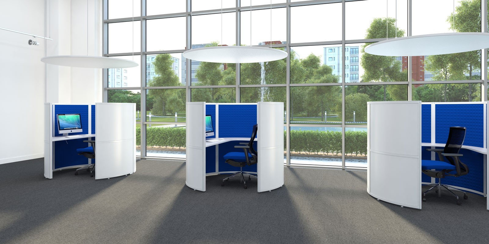 Acoustic Office Screens And Pods Cover Image