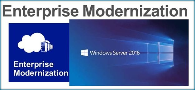 Windows Server 2016 Upgrades Migrations Enterprise Modernization