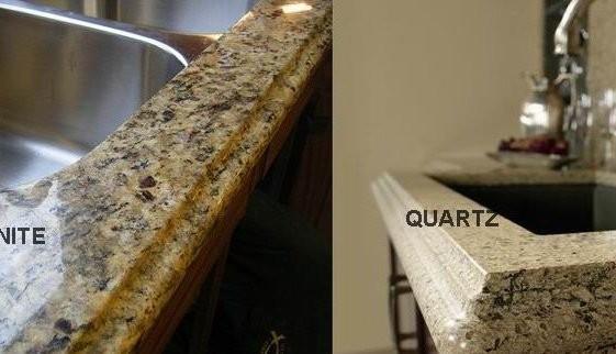 Quartz vs granite for countertop you should know something - Quartz versus granite countertops ...