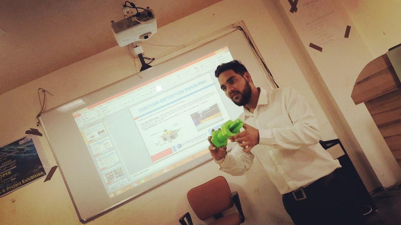 Rishi Vyas - Business Development Manager J Group Robotics