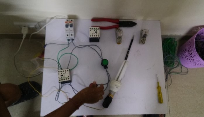 Single phase motor onoff wiring with contactor diagram sumit single phase motor onoff wiring with contactor diagram sumit kanwar pulse linkedin cheapraybanclubmaster Gallery