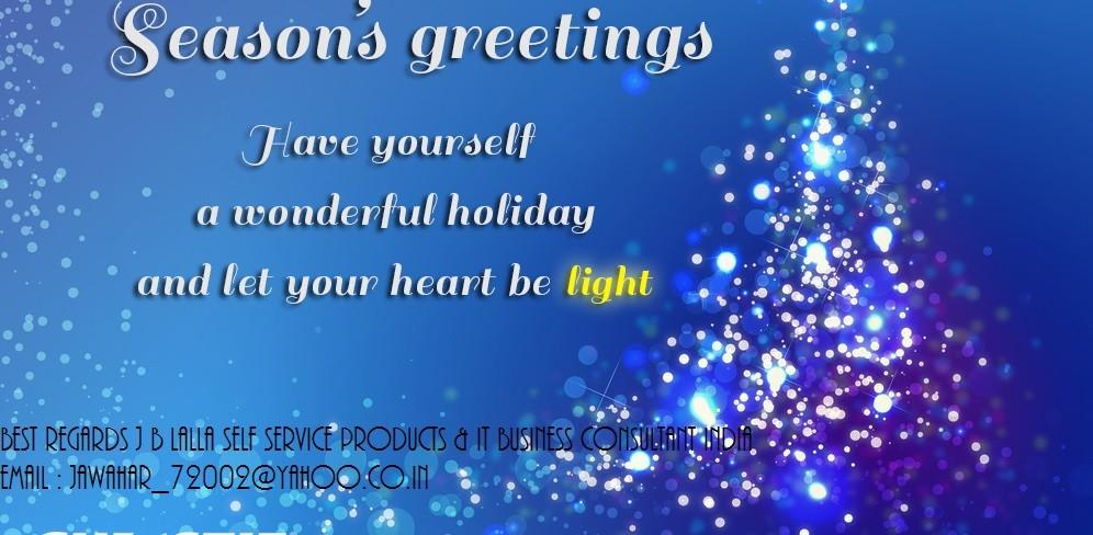 Seasons greetings on this festive season jawahar lalla pulse seasons greetings on this festive season m4hsunfo