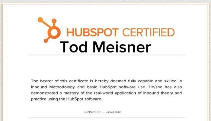 Inbound Marketing Certification, Totally Worth It   Tod Meisner ...