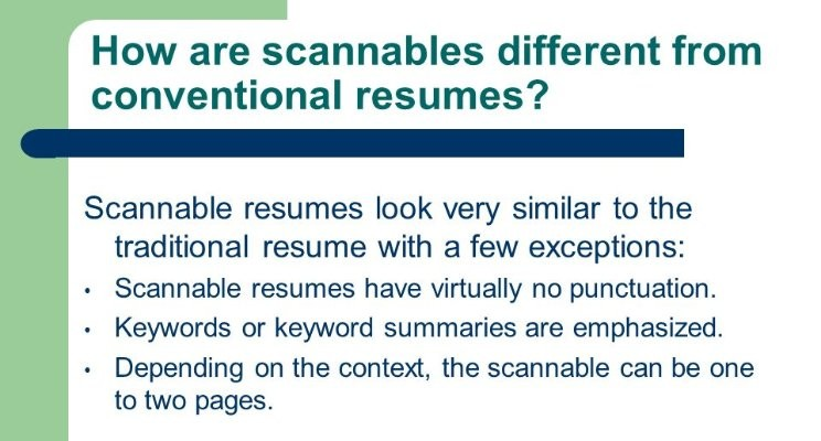 scannable resumes and why they matter the little résumé shop llc