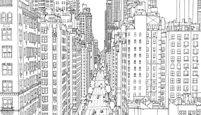 Fantastic Cities The Most Intricate All Ages Colouring Book