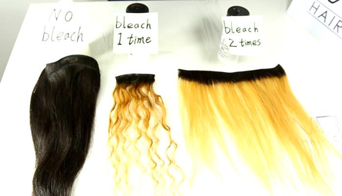 How To Bleach Your Virgin Hair Extensions Linkedin
