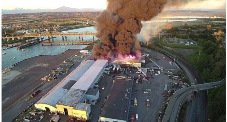 Anatomía de un incendio en una Planta de reciclaje | Ryan Fogelman ...